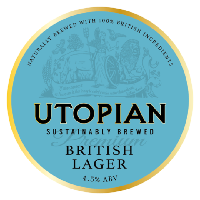 Utopian British Lager