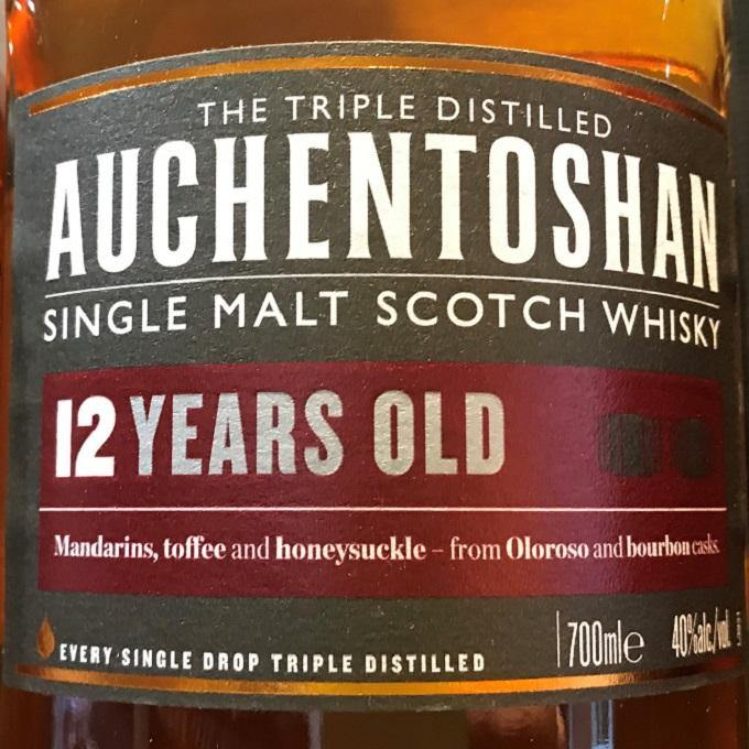 Auchentoshan 12 Year Old 40% proof