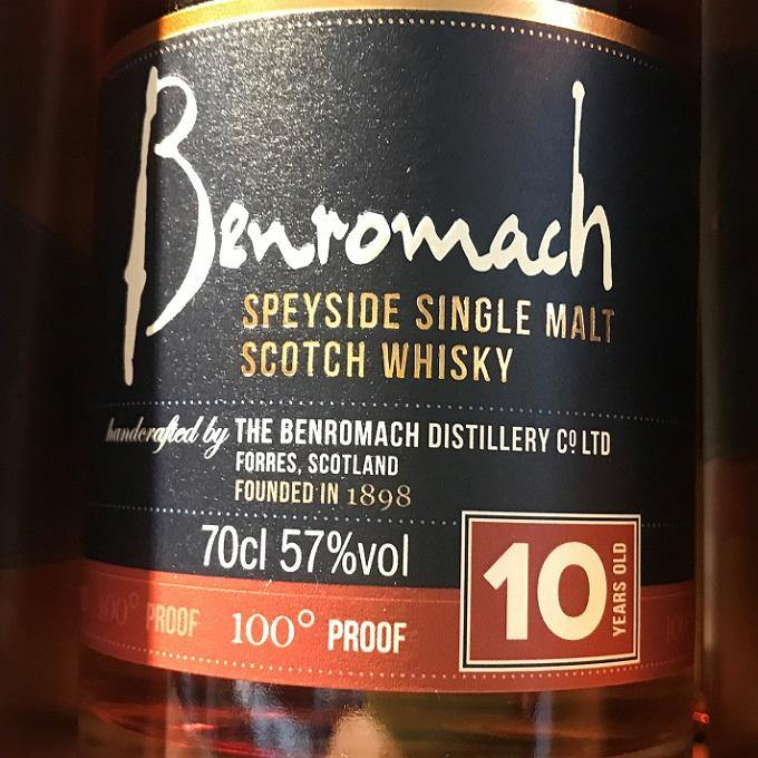 Benromach 100% Proof