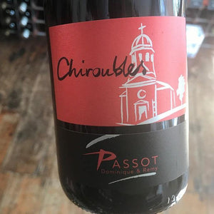 Chiroubles 2017 Domaine Remy Passot