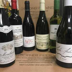 NEW: Case of Delights, Top Bordeaux, Burgundy and Rhone (6 bottles)
