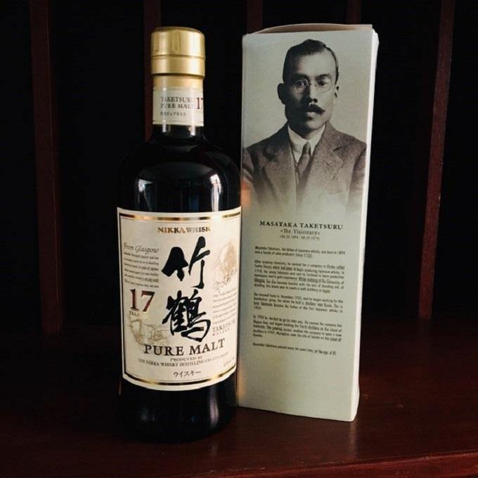 Taketsuru Pure Malt 17 Year Old, Nikka Whisky