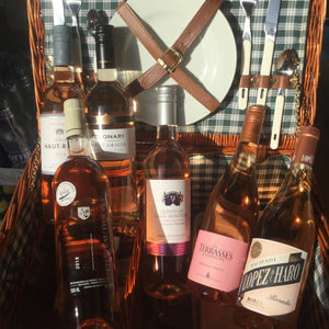 'In The Pink' Six Mixed Rosé Wines