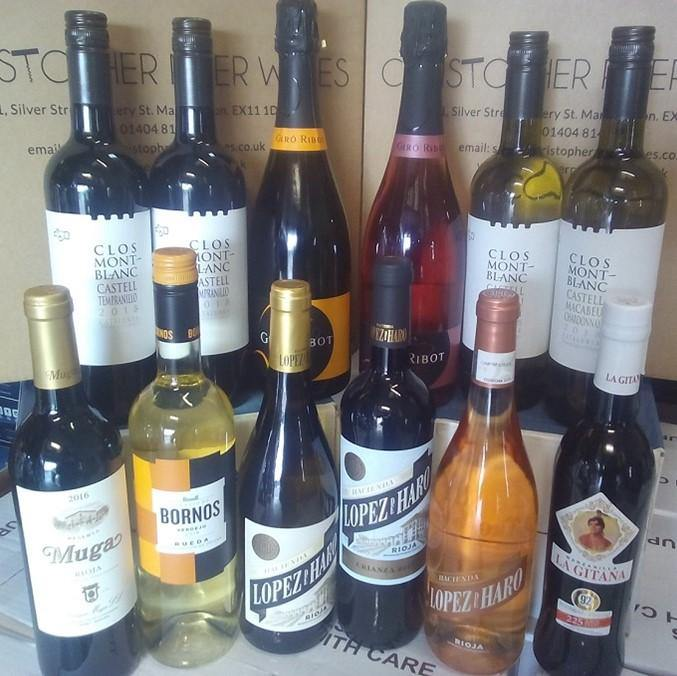 Super Spanish Selection of Wines