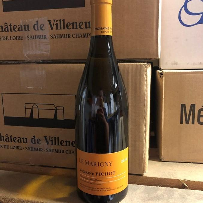 Vouvray Moelleux Le Marigny 2016, Domaine Pichot