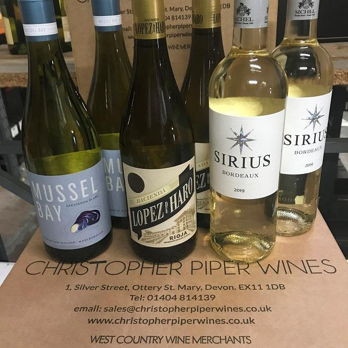NEW: Winter White Wines (6 bottles)