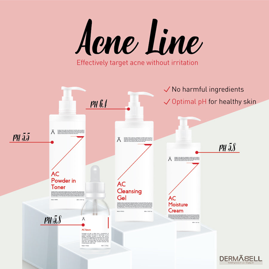 AC Line | Acne-Preventative Skincare | Professional & Home-Use | DERMABELL