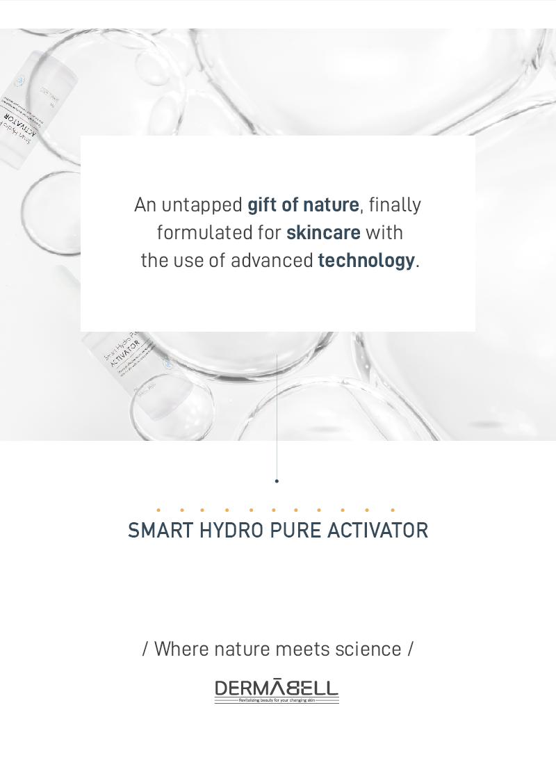 Smart Hydro Pure Activator | DERMABELL BASIC | Hydrates and restores sensitive skin