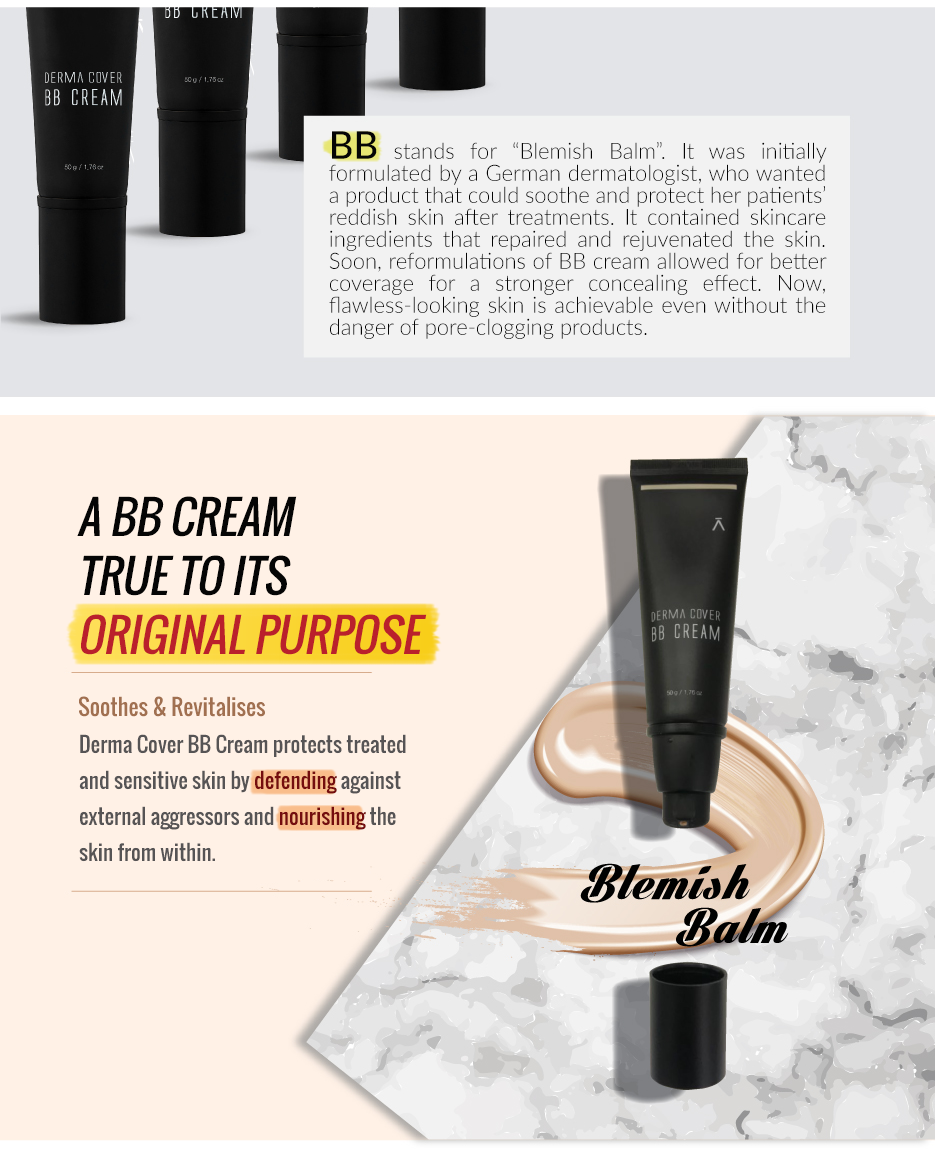 DERMA COVER BB CREAM | DERMABELL BASIC