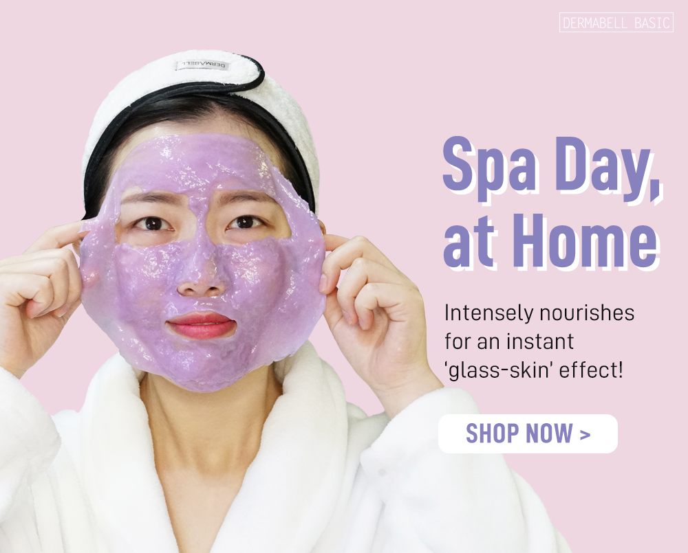 Spa Day, At Home | DERMABELL BASIC Premium Modeling Gel Masks