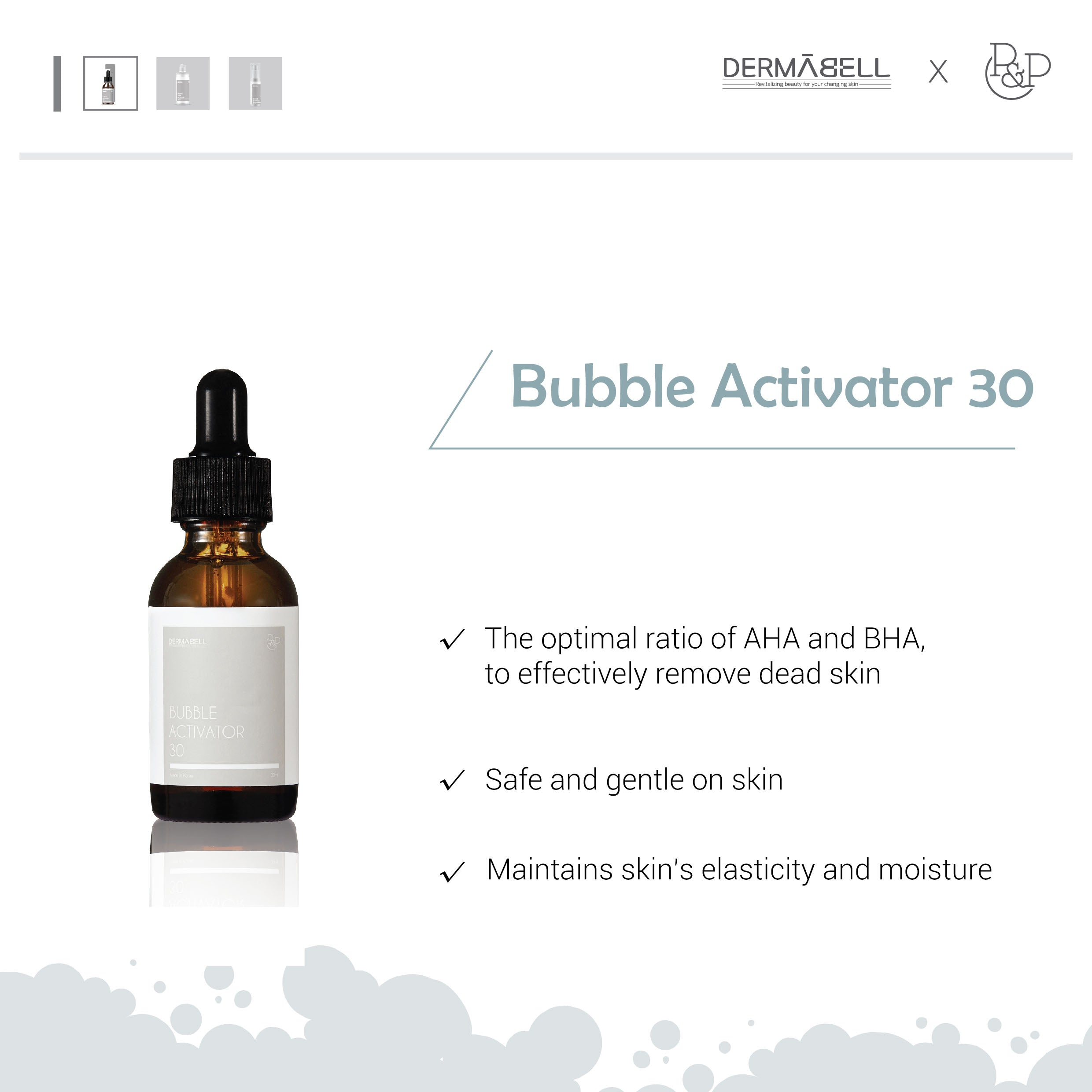 Bubble Peel Therapy Set Dermabell Therapy by DERMABELL PRO THERAPY