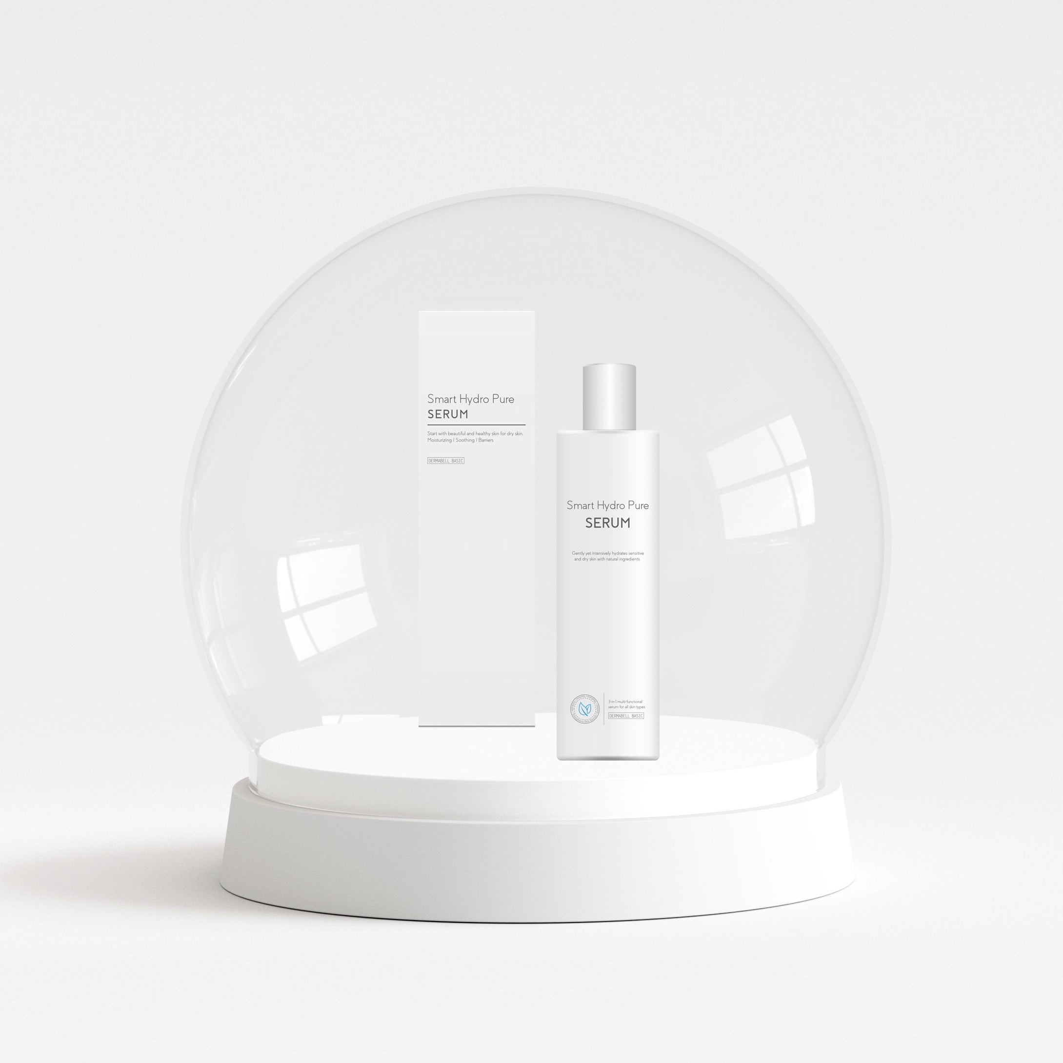 Smart Hydro Pure Serum  by Dermabell Basic. Serum. Skincare. Kbeauty. Cosmeceutical.
