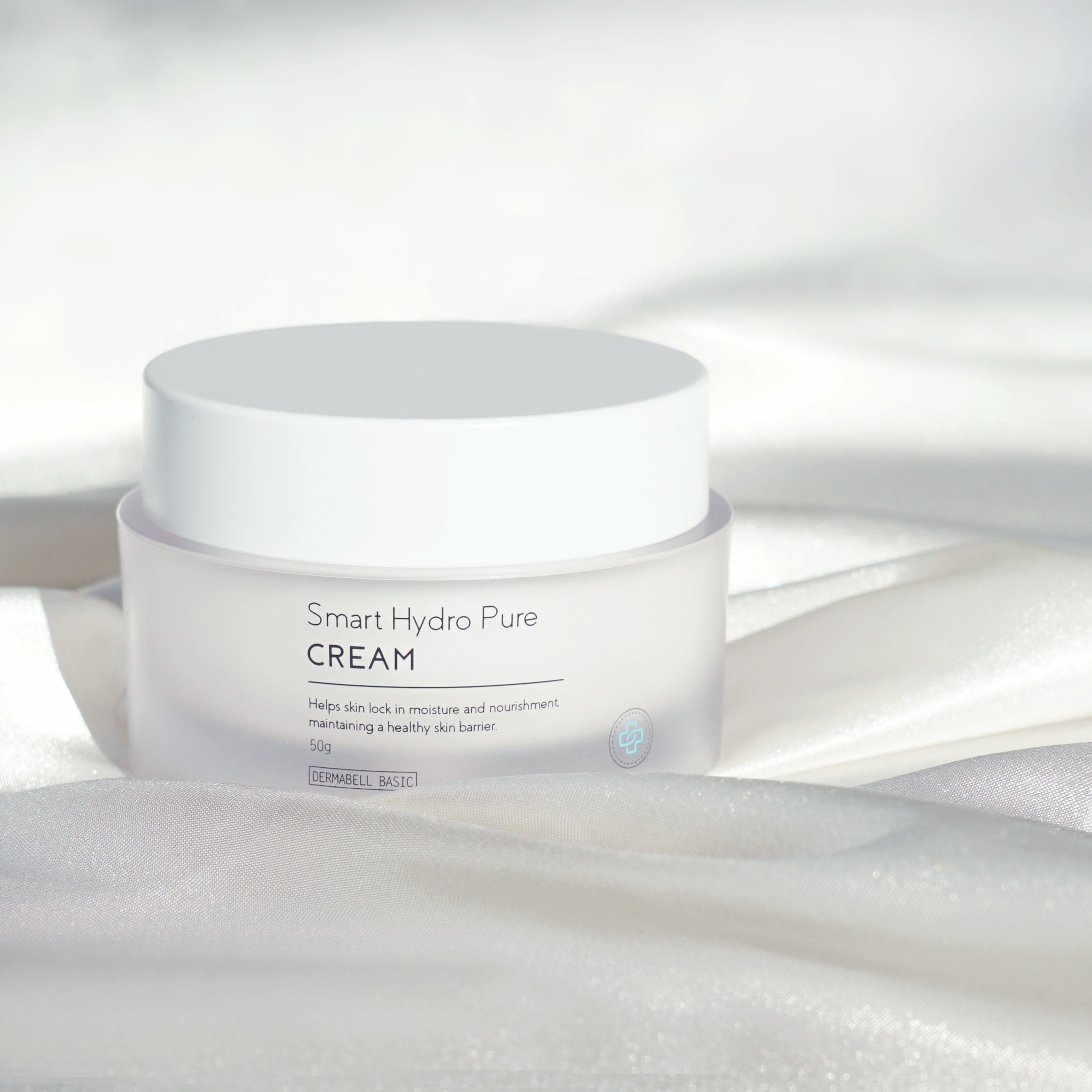Smart Hydro Pure Cream Moisturiser by Dermabell Basic. Kbeauty. Skincare.