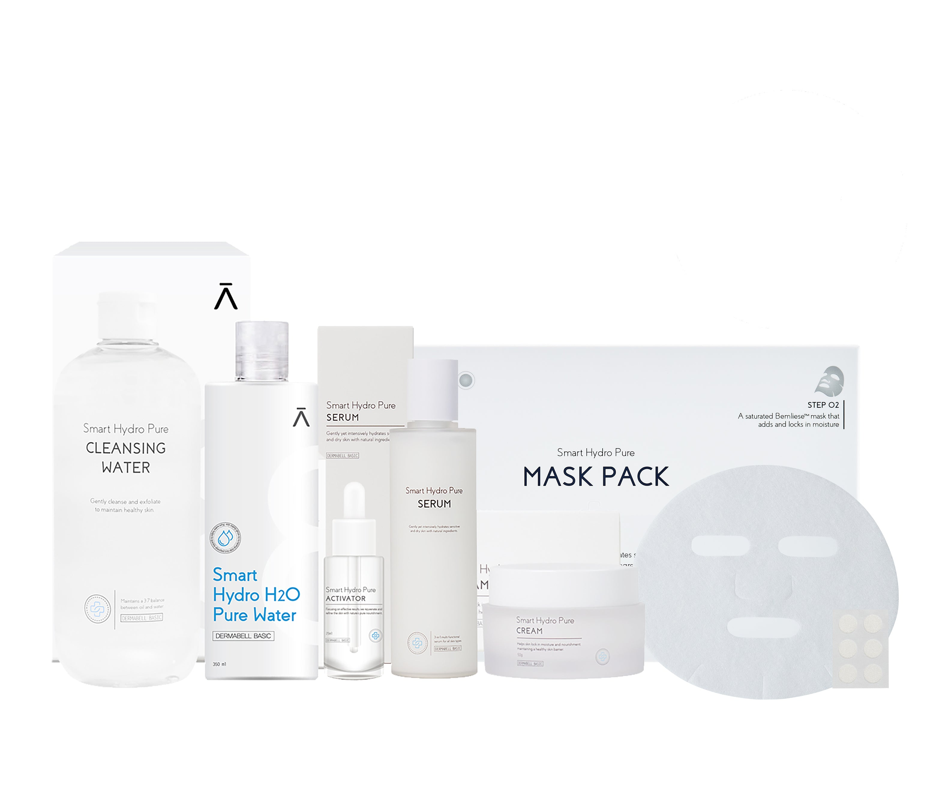 Smart Hydro Pure Line [Full Set] Smart Water by Dermabell Basic