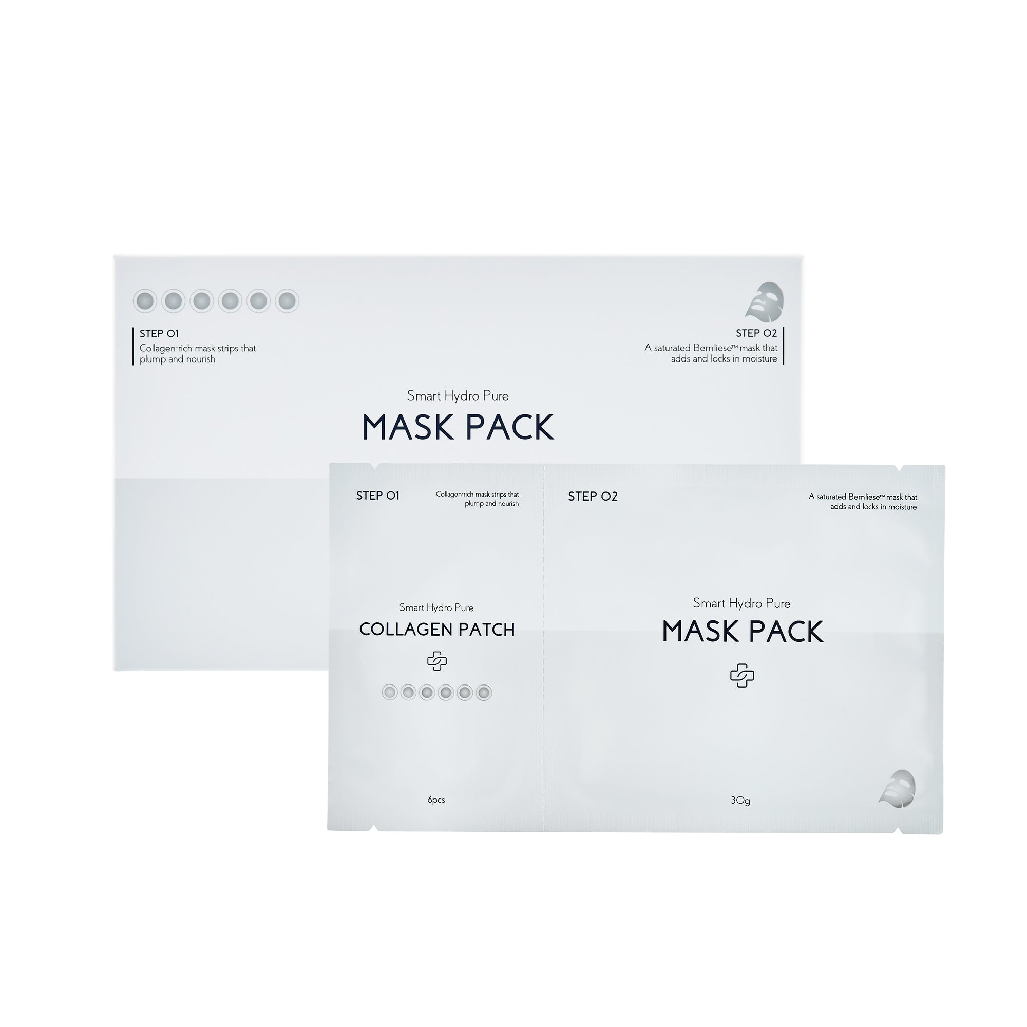 Smart Hydro Pure Mask Pack Mask by Dermabell Basic