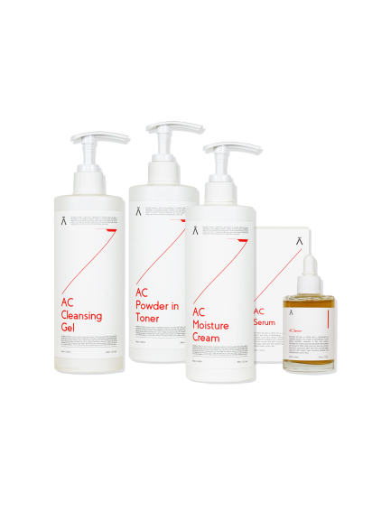 AC Line (Cleanser + Toner + Serum + Cream)