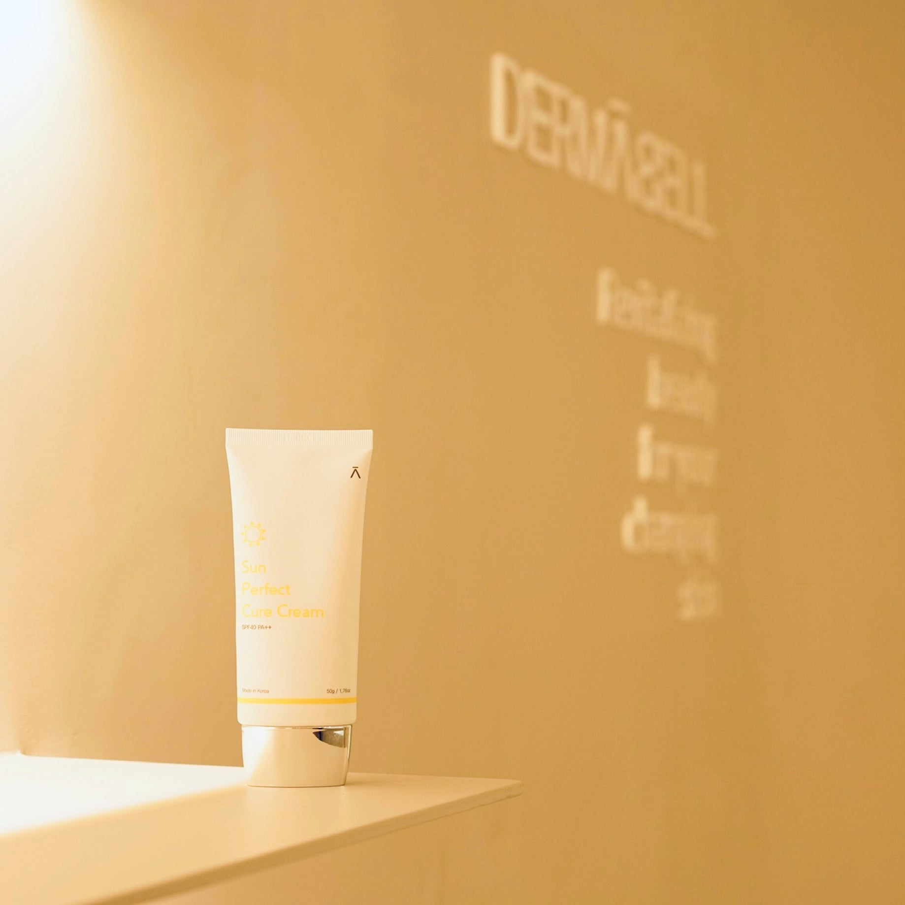 Sun Perfect Cure Cream Sun Protection by Dermabell Basic