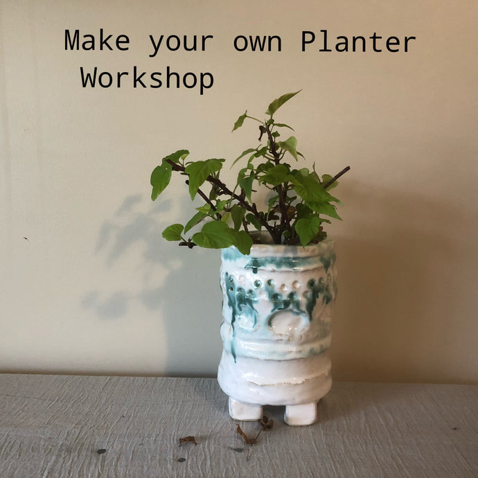 Make a Planter. Wednesday 16th October 10am-1pm