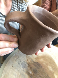 Workshop: Make a Mug - Sunday 22nd  November 10am until 1pm