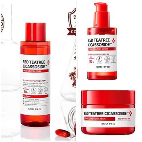 Red Teatree Cicassoside Final Solution Products