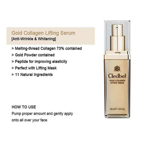 gold collagen lifting serum