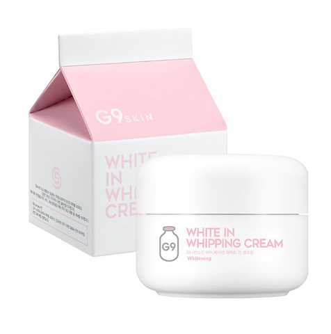 skin white whipping cream