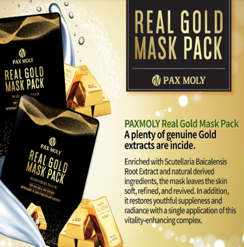 Pax Moly Real Gold Mask