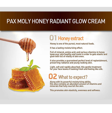 Pax Moly -Honey Radiant Glow Cream