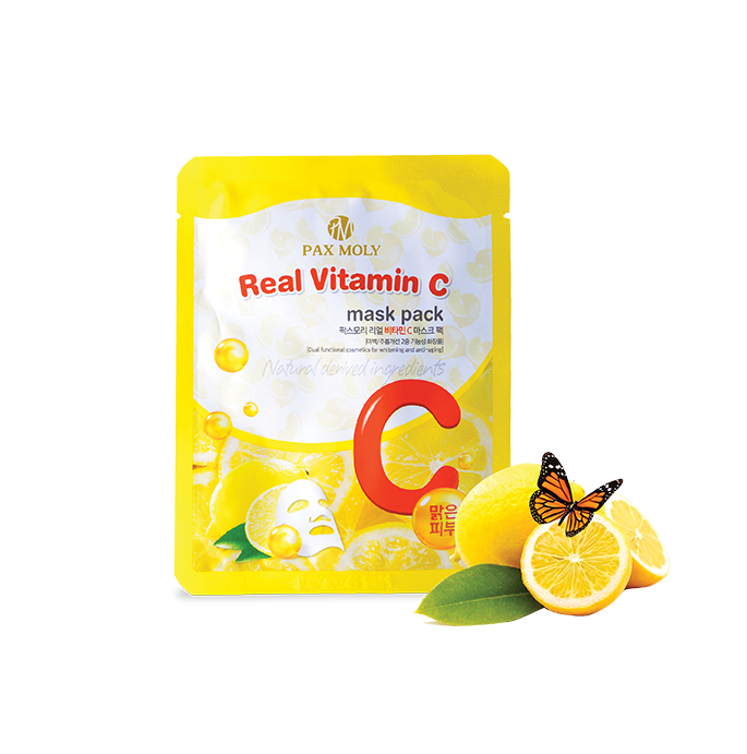 Pax Moly - Real Vitamin C- Mask Pack