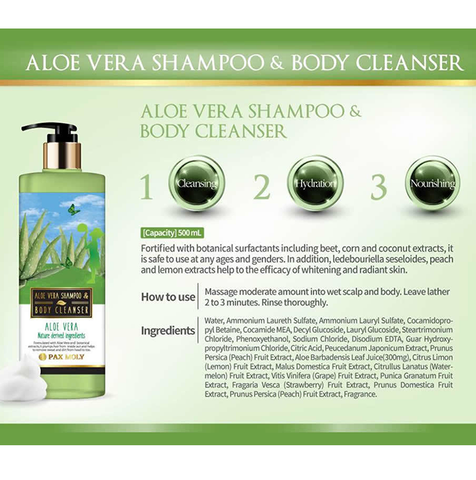 Pax Moly- Shampoo Body Cleanser