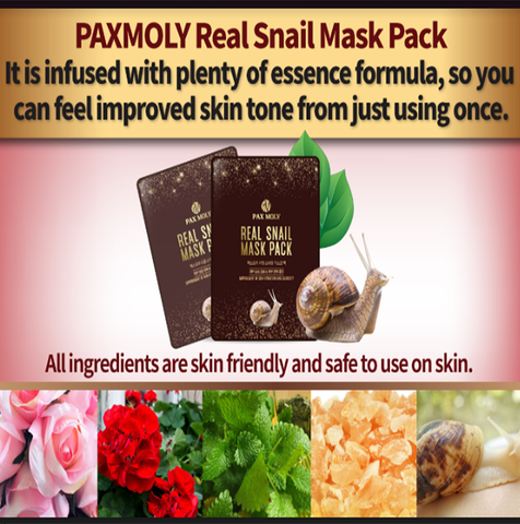 Pax Moly Snail Mask Pack