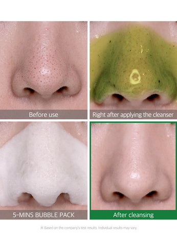 BYE BYE BLACKHEADS GREEN TEA TOX BUBBLE CLEANSER