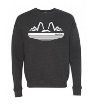 Load image into Gallery viewer, Mutts and Mountains Crew Sweatshirt
