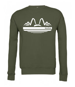 Mutts and Mountains Crew Sweatshirt