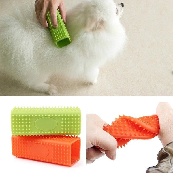 Cats Dogs Pet Hair Cleanup Suction Hair Removal Brush