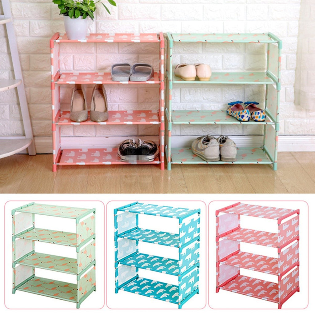 Shoes Storage Cabinet 3/4 Layer Shoes Stand Organizer Rack