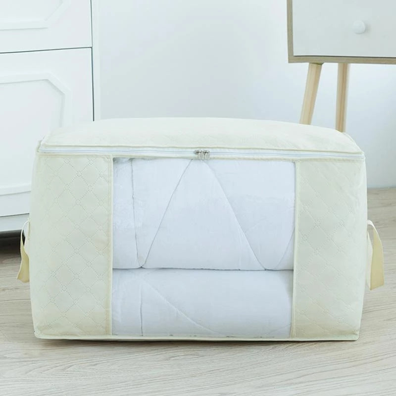 Upgrade Large Capacity Breathable Clothes Quilt Storage Bags