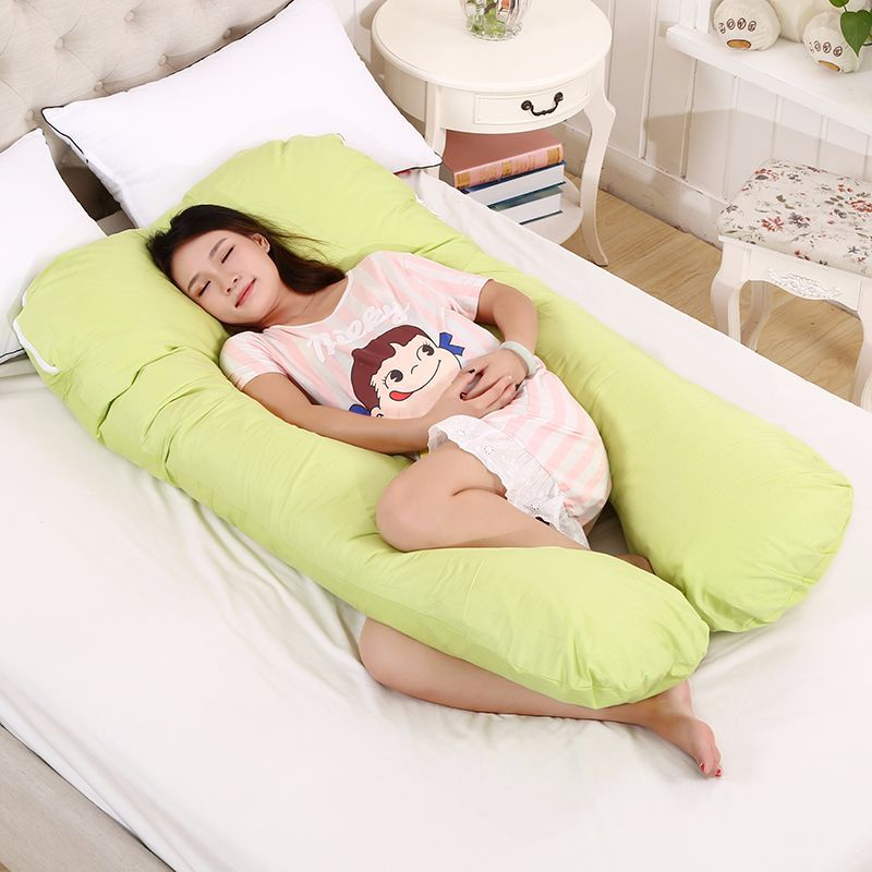 U Type Pregnancy Comfortable Pillows Maternity Belt Pregnant Side Sleepers Cushion