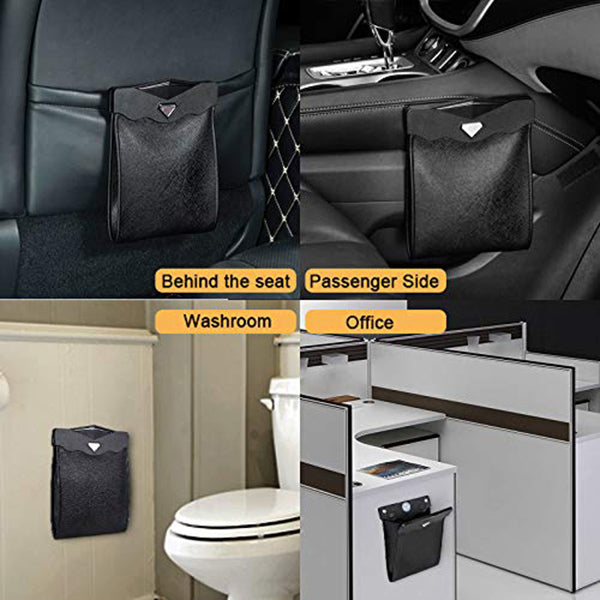 Car Trash Bag With LED Light -- Tidy Car, Enjoyable Drive