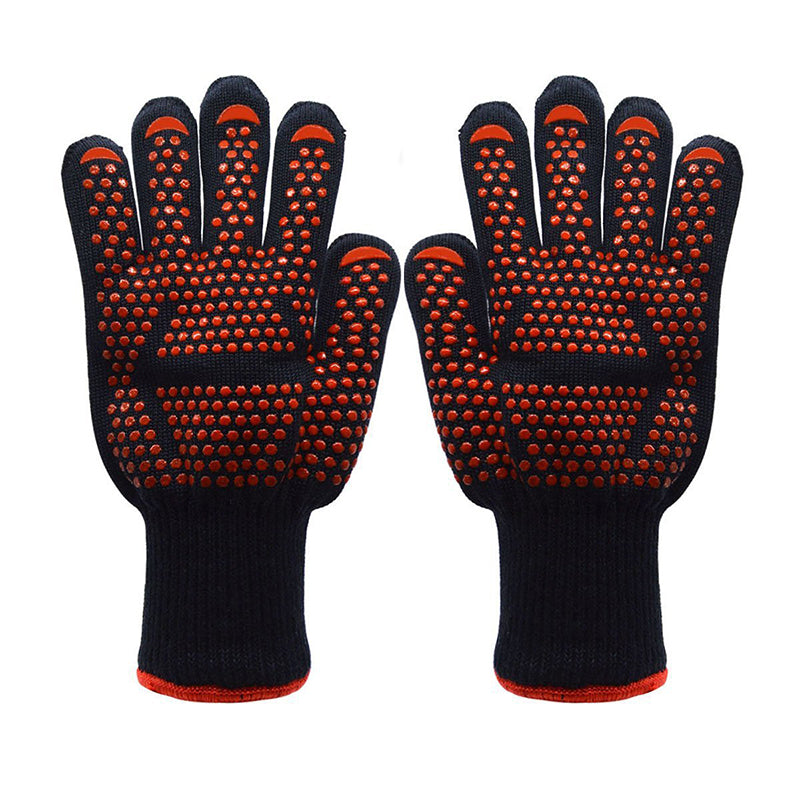 1Pair Super Resistant Fireproof Gloves
