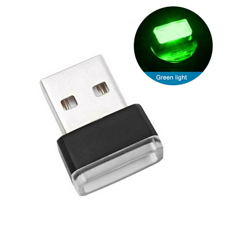 Mini USB Power LED Wireless Car Interior Lighting Atmosphere Light