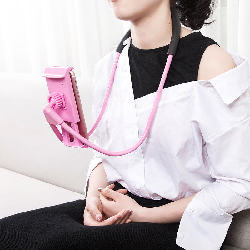 Hands Free Lazy Neck Phone Holder