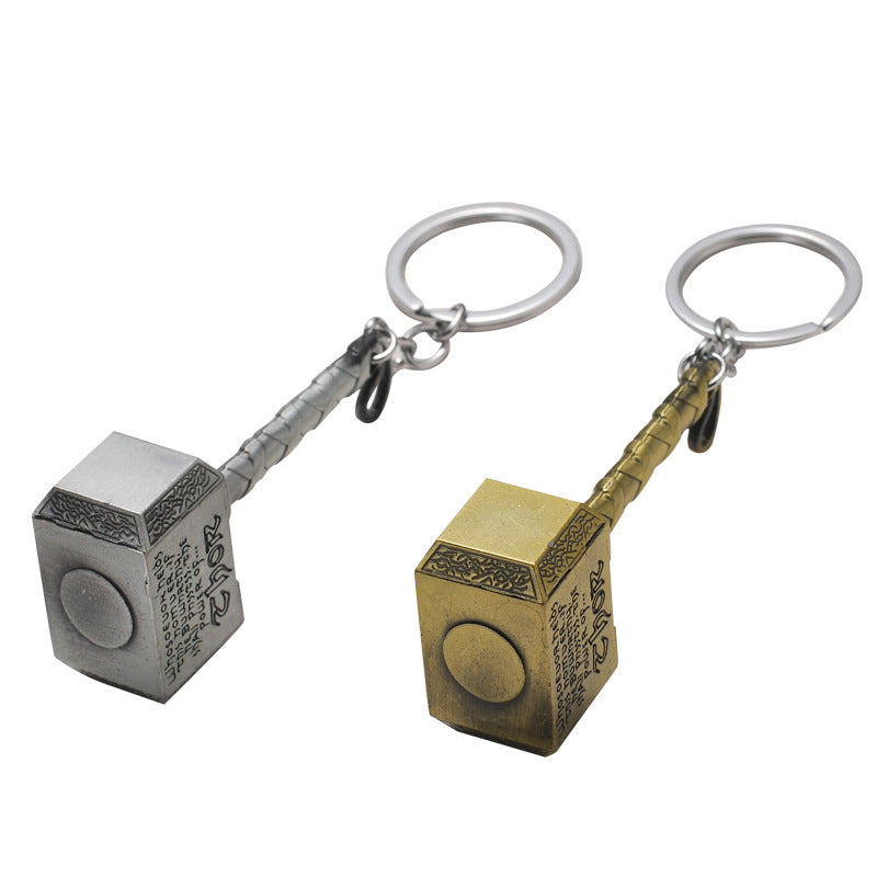 Men's Key Ring Retro Style Creative Unique Design Alloy Key Ring Accessory