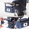 Portable Baby Stroller Pouch Nappy Diaper Carriage Hanging Basket Storage Organizer Stroller Accessories