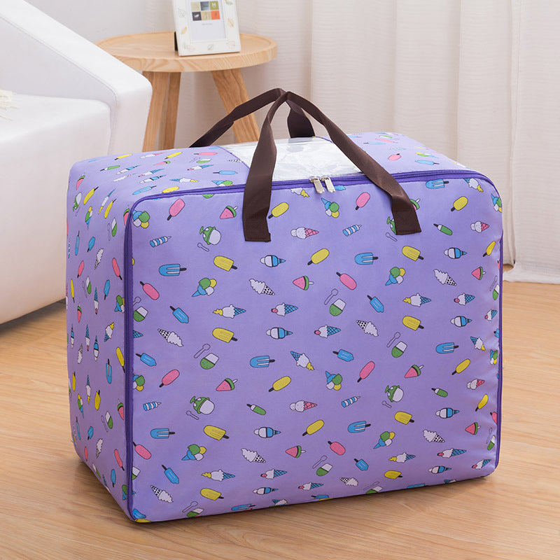 Oxford  Storage Bags Folding Organizer Portable Container for Clothes Quilts