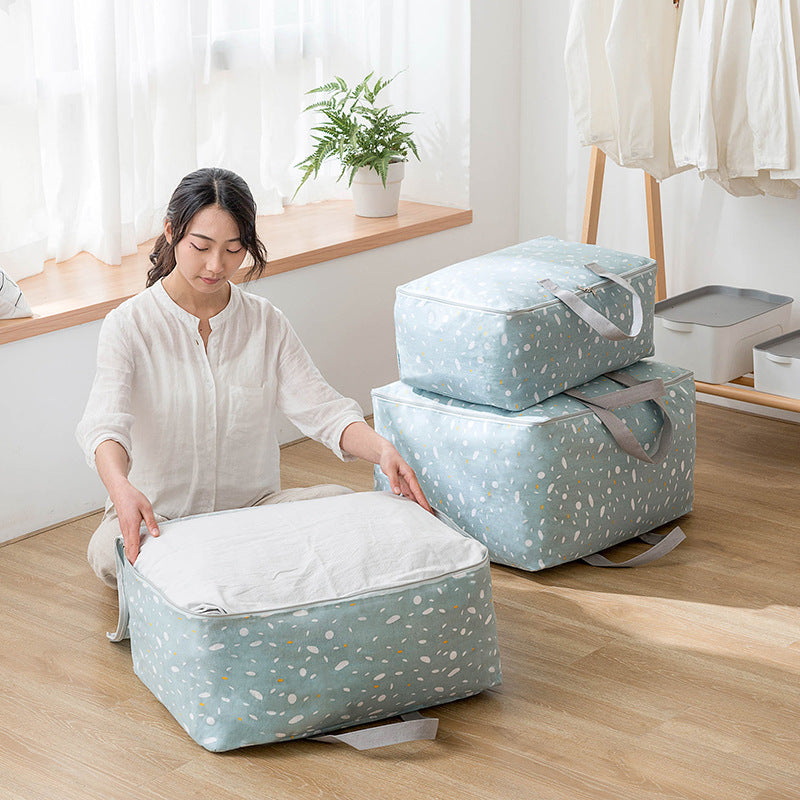 Folding Washable Quilts Large Capacity Storage Bags Portable House-moving Container Clothes Storage