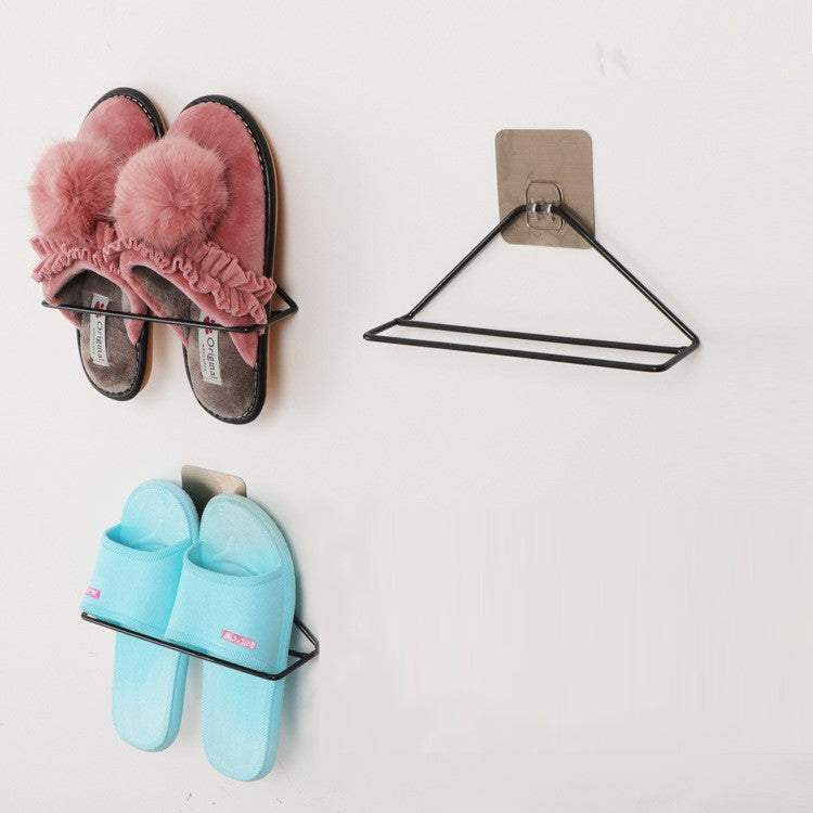 Simple Wall Hanging Shoes Organizer Shelves