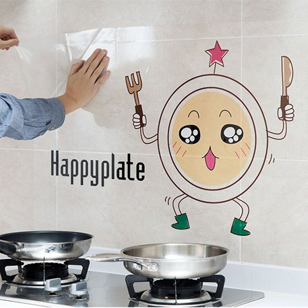 Kitchen Oilproof and Waterproof Home Decoration Wall Sticker