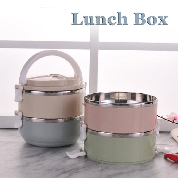 Portable 1/2/3/4 Layers Thermal Insulated Lunch Box