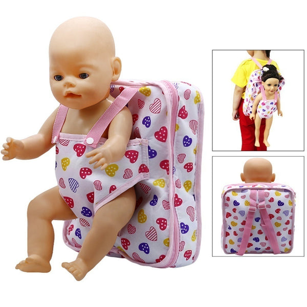 Toy Backpack Sunflower Accessories for American Girl Baby Doll